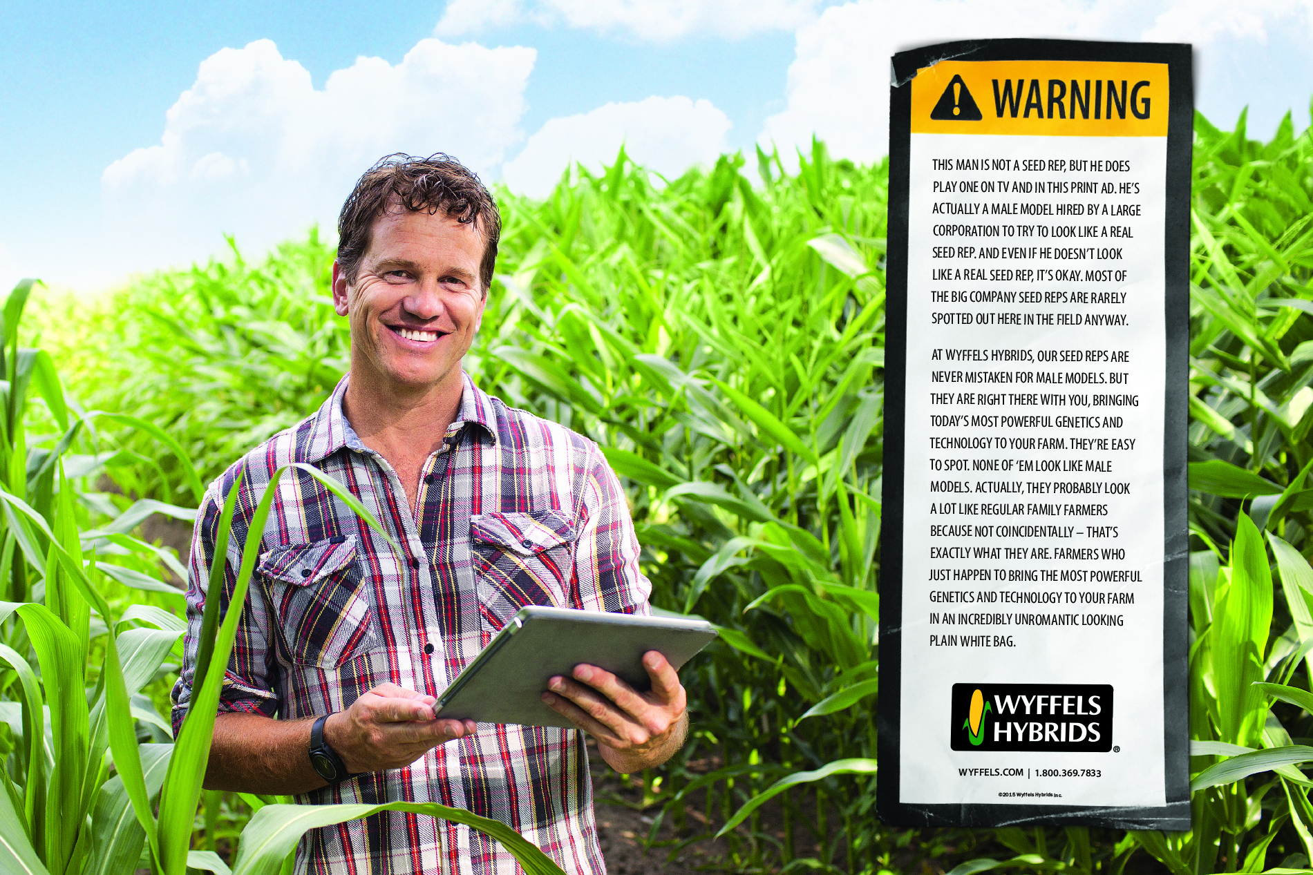 Wyffels Hybrids Advertising
