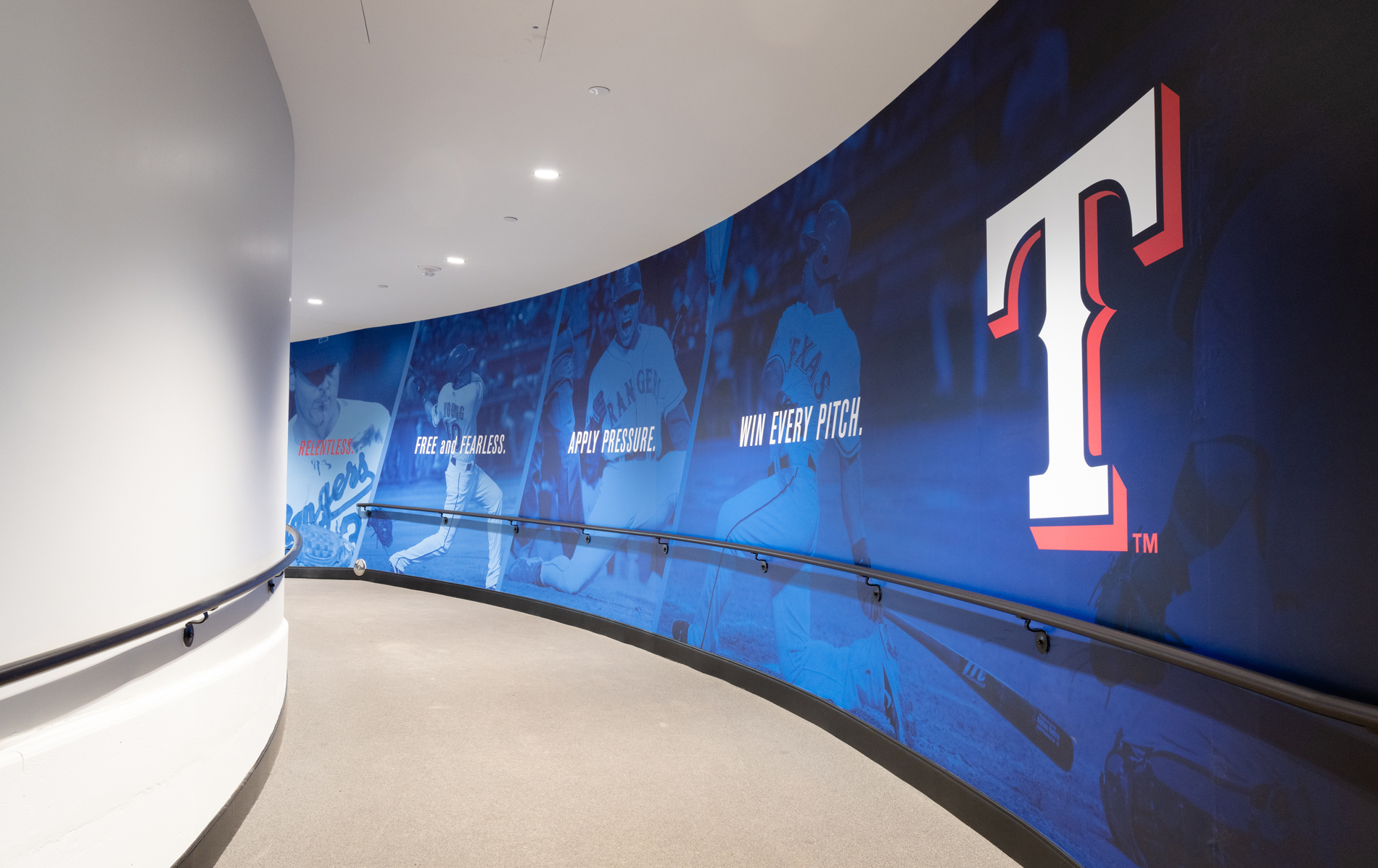 Texas Rangers Clubhouse