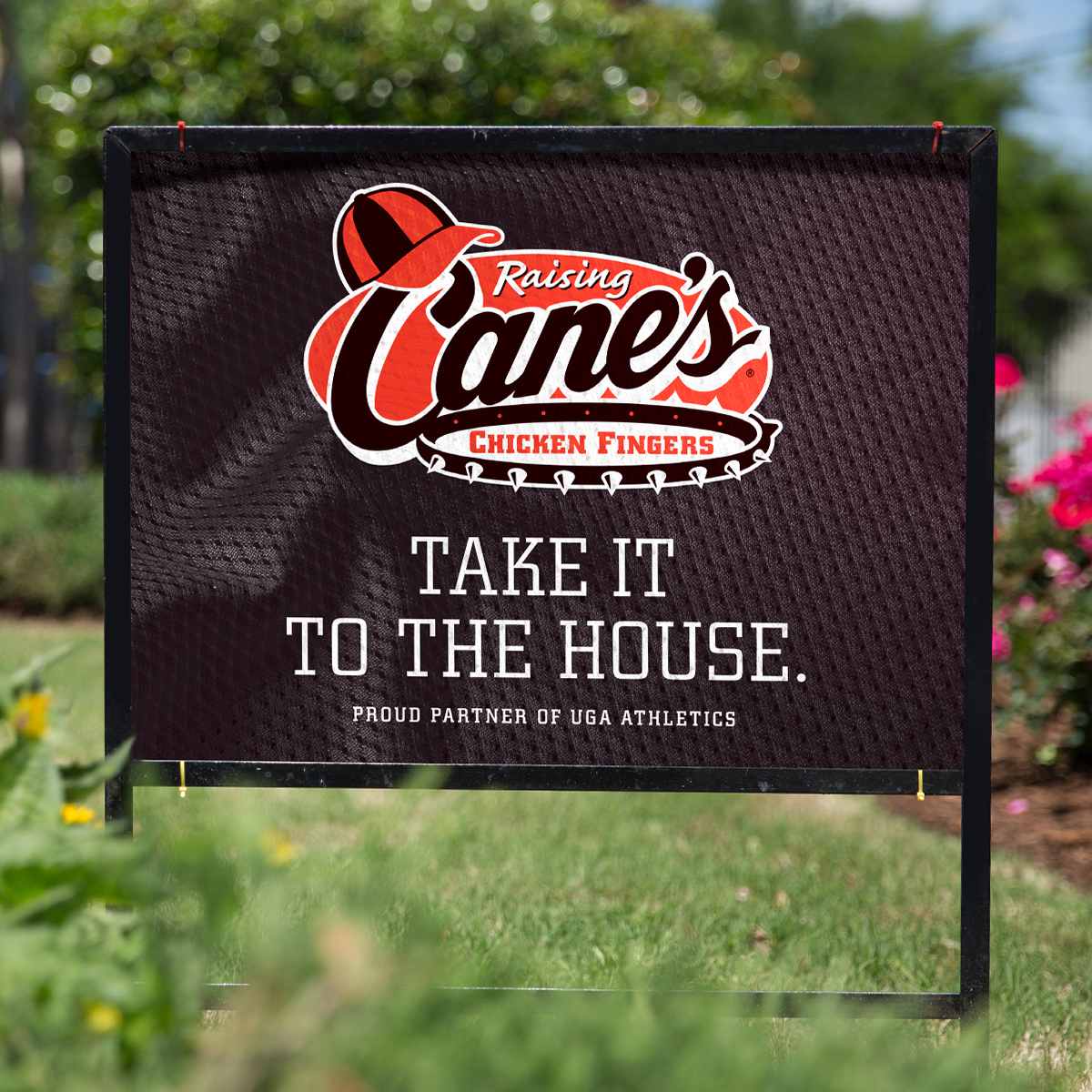 Raising Cane's Football Campaign