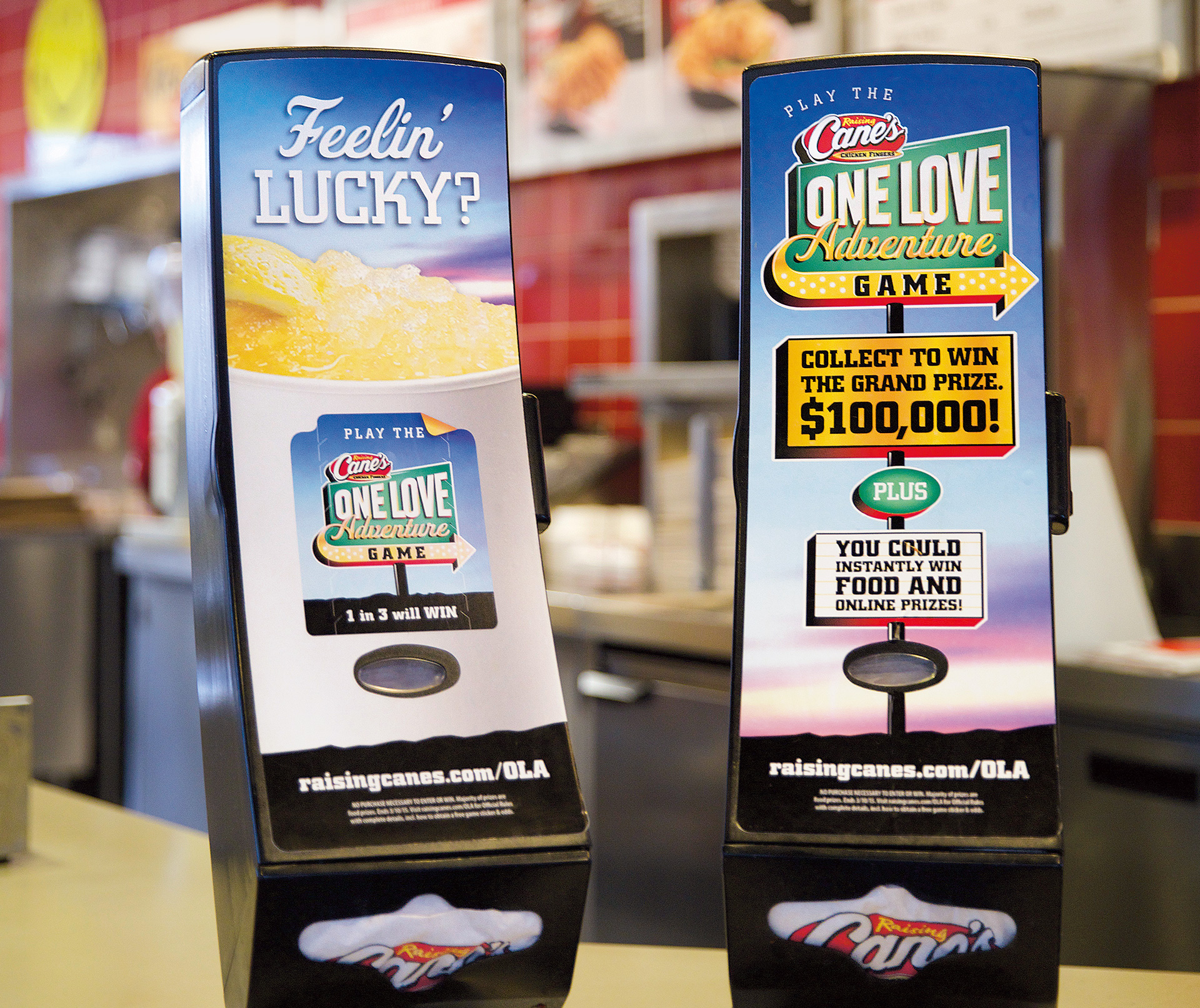 Raising Cane's One Love Adventure
