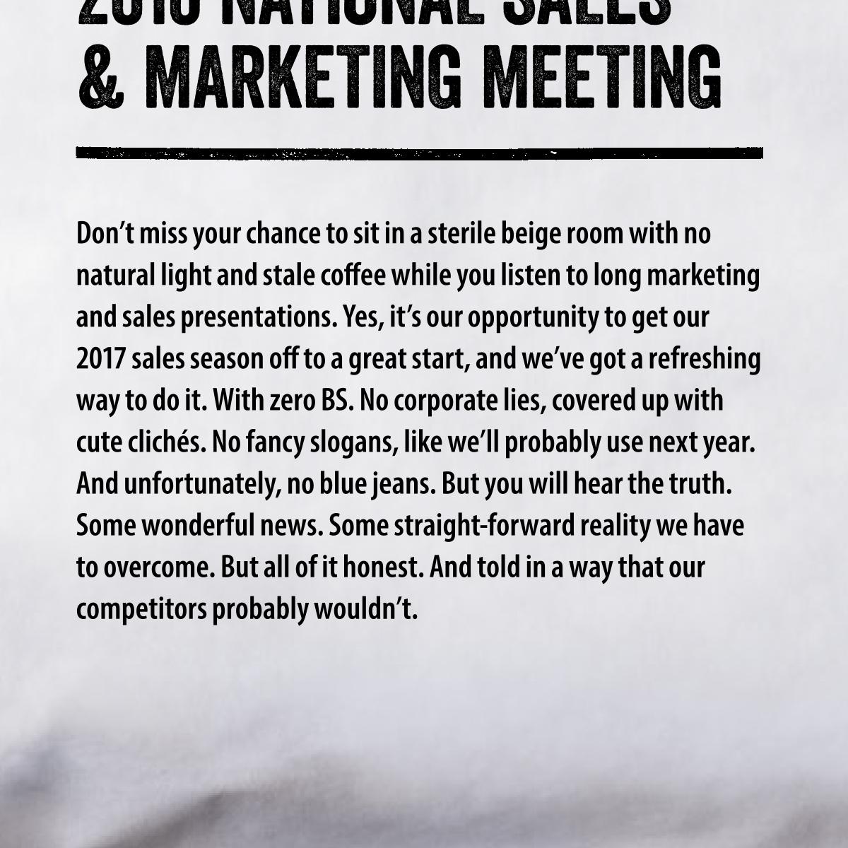 "Wyffels Hybrids ""Brutally Honest"" Sales Meeting"